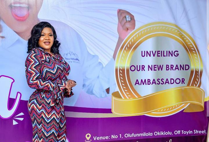 Toyin Abraham Bags Ambassadorial Deal