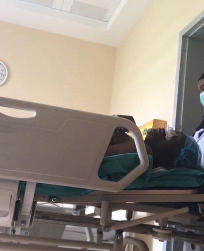 Kanayo undergoes surgery