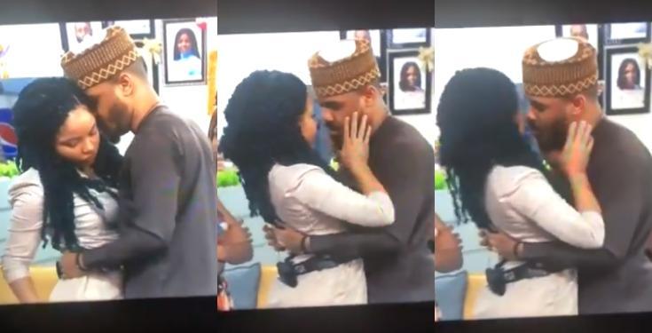 Ozo and Nengi kiss
